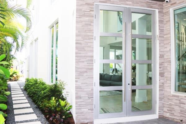 High-end Florida home entrance door